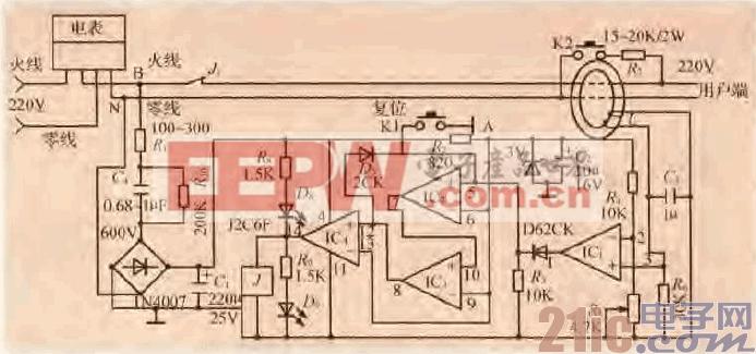30.一款用LM324组成的漏电保护电路.gif