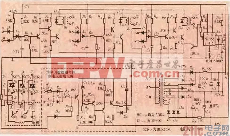86.一款三相异步电机节电控制电路.gif