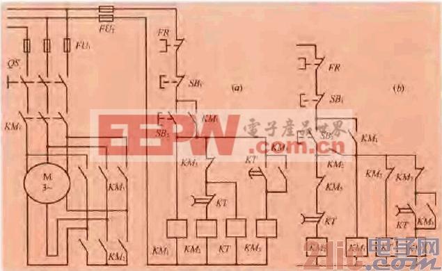 5.一款星形一三角形自动切换启动电路.gif