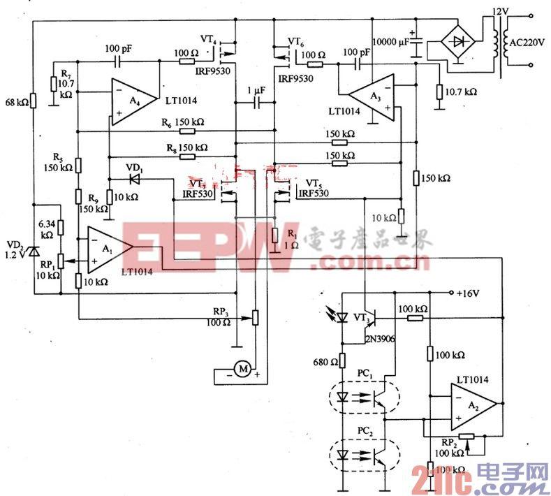 由LT1014等构成的电动机运行控制电路.jpg