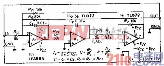 16.与LC谐振电路等效的单调谐电路.gif