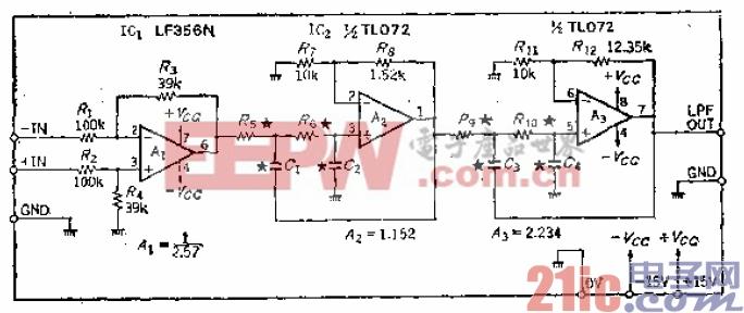 3.采用相同电容参数、容易改变截止频率的24dB-oct低通滤波器.gif