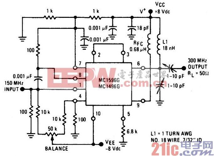 150-300MHz的倍增器电路图.jpg