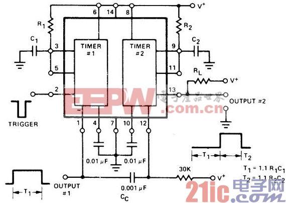 用于延时单稳多谐振荡器的连续时序电路.jpg