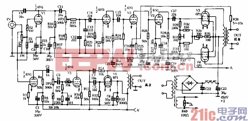 介绍一款宽频带电子管扩音机