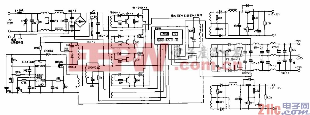 TDK大功率场效应管全桥组件在开关电源及D类放大器的应用02
