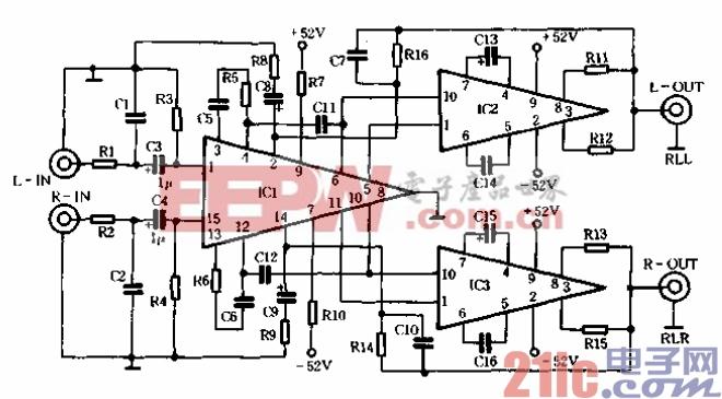 仪表放大器电路图图片