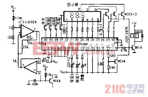 康宝SDX-51A(52A)系列电脑式消毒柜电脑控制图.gif