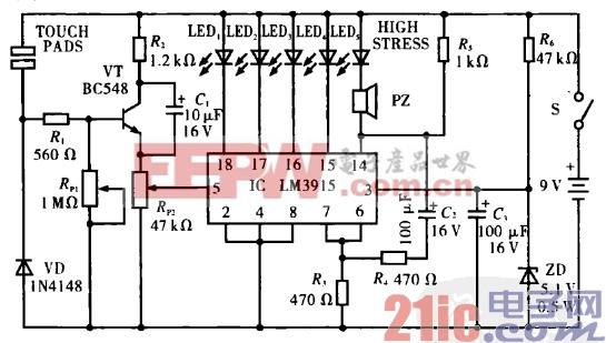 17.精神压力自测表电路.gif