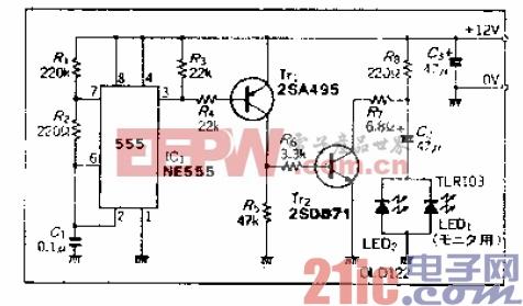 13.抗外来光能力强、结构简单的发光二极管发光电路.gif