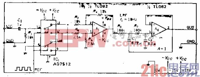 11.采用模拟开关盒差动放大器使电路简化的同步检波电路.gif