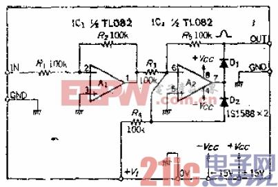 限幅电平准确的下限限幅电路