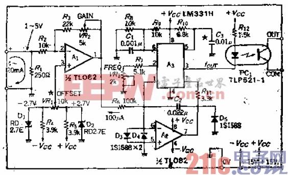 8.把4至20mA转换成10KHz的隔离式电流-频率转换电路.gif