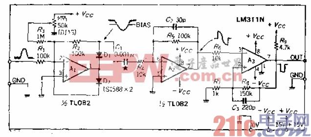 10.微分系数为零的峰值时间检测电路.gif
