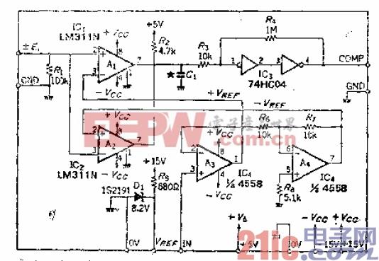 4.基准电压正负对称的双极比较器.gif