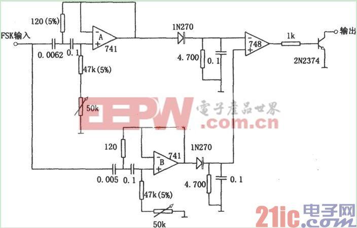 用有源滤波器构成的频移解调器(748).jpg