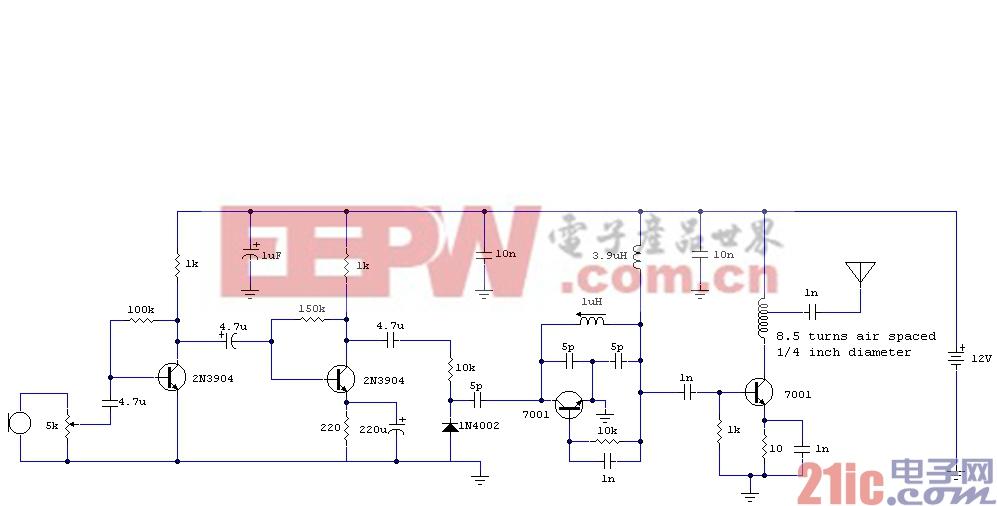 4管FM发射器电路图.gif