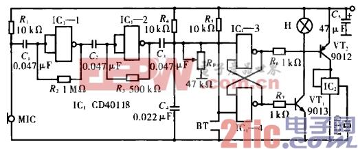 32.电子生日蜡烛电路(一).gif