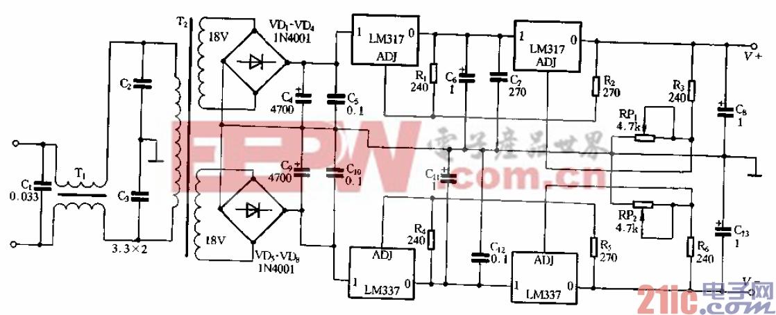24.功能前级采用高精度稳压电源.gif