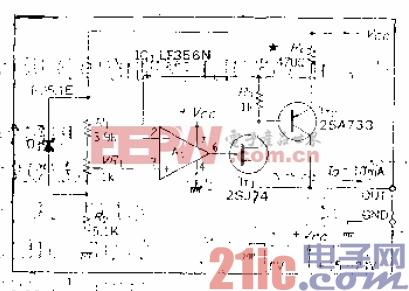 16.可为一端接地的负载提供恒流的电源电路.gif