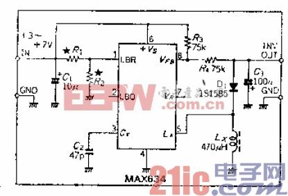 9.跟踪电源输入的3至7V负电压转换器.gif