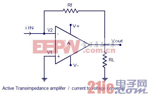 有源电流电压转换电路