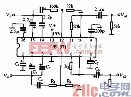 13.用NE571制作的扩展电路.gif