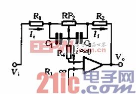 附加了R4的实用音调电路简化形式