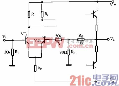 20.反馈电路与偏置电路分开设置的差动输入级.gif