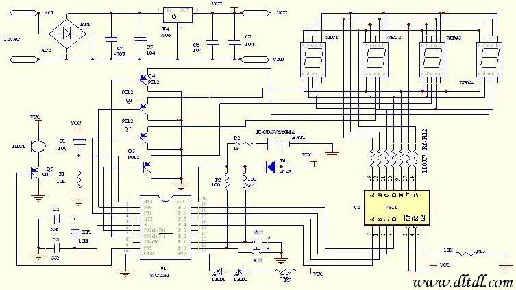 经典实用的单片机模块电路设计 单片机电路图图片