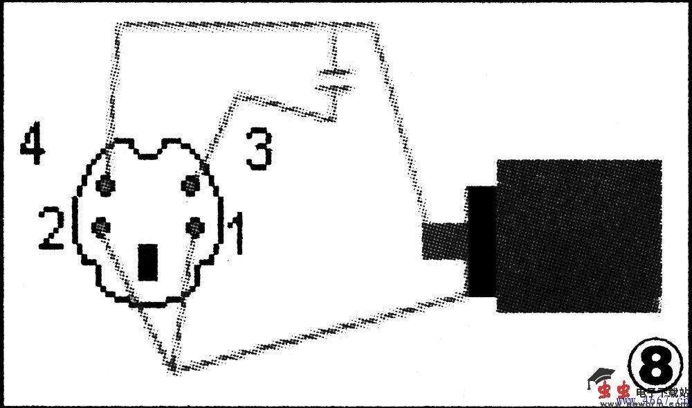自制vga转s端子接线图