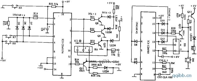 天逸AD-5100放大器工作模式选择电路(一)