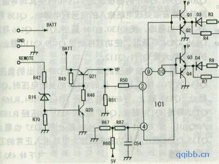 JVC KS—AX5500型车载功放原理与检修技巧