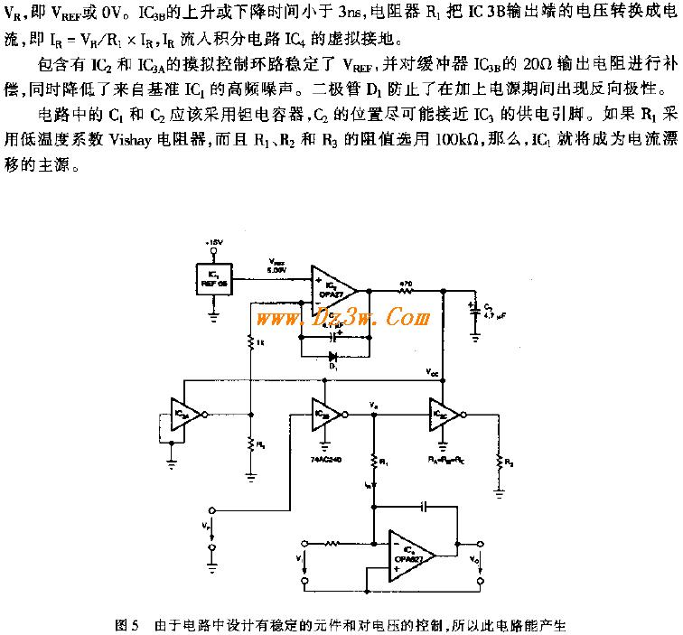 产生精密电流脉冲的 CMO