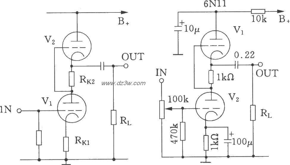 SRPP电子管前级放大器电