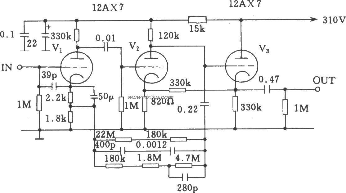 McIntosh-C22电子管前级