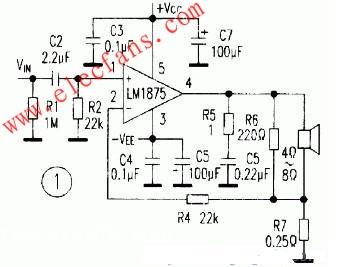 宽带高频功率放大器电路 -功放电路