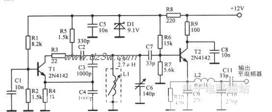 3.955—4.455MHz接收机L