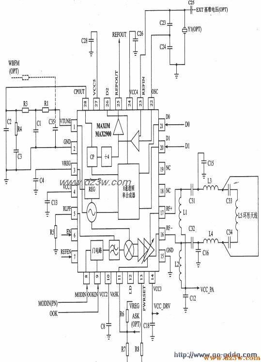 MAX2900/2901/2902应用电