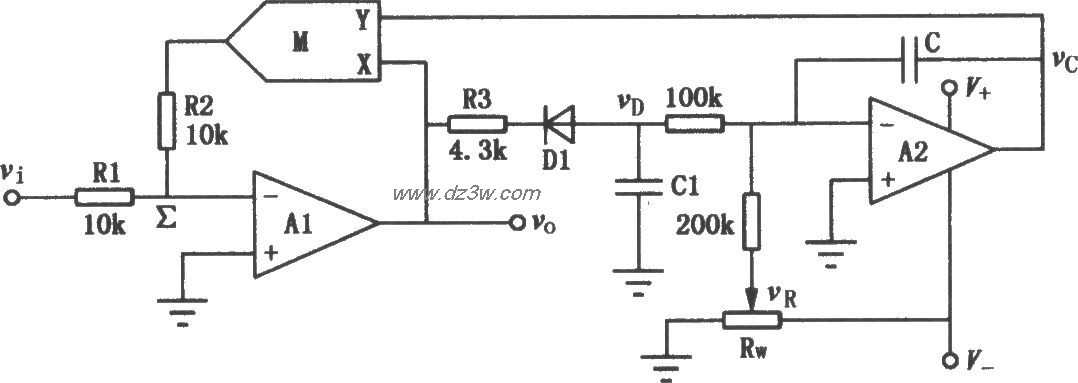 自动电平控制电路(ALC电