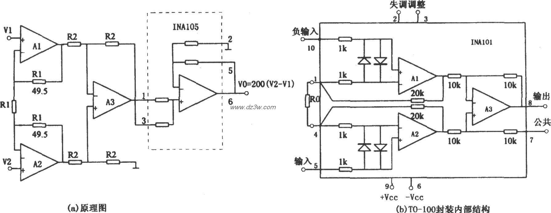 能扩展共模输入电压范围