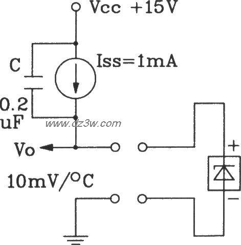 TSV型温度传感器采用恒流