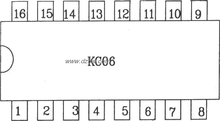 可控硅移相触发器KC06应