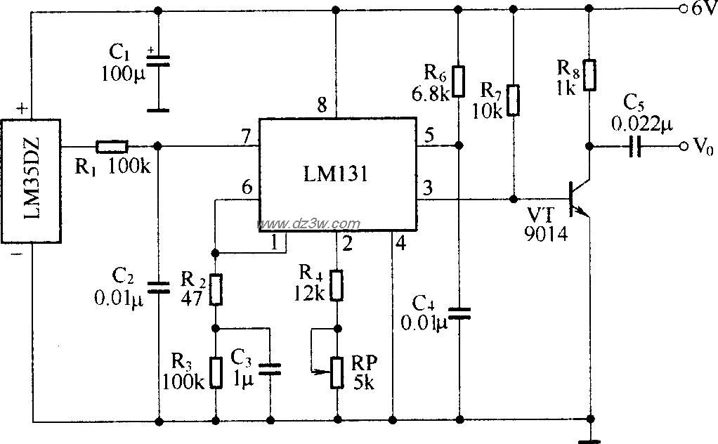 温度检测、电压-频率变换