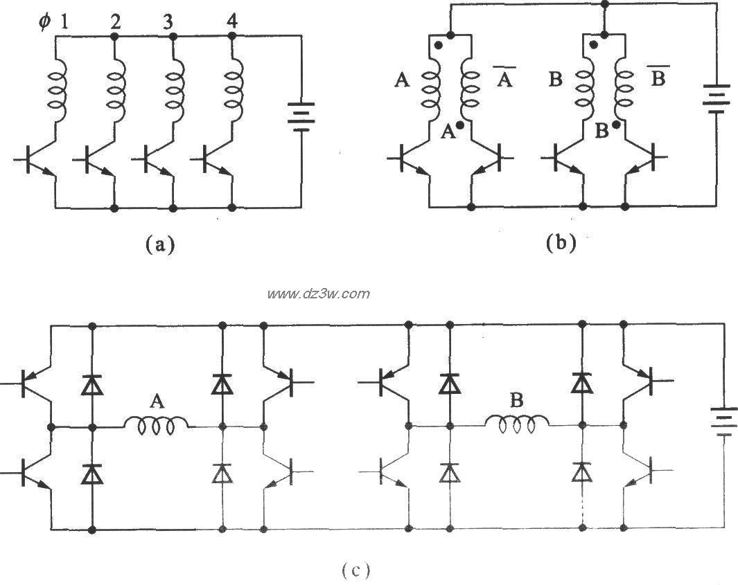 步进电动机的驱动电路及