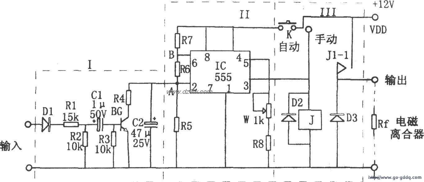 用EN555构成的汽车空调控