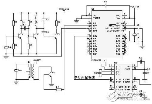 揭秘ARM单片机超声波监测预警系统电路设计