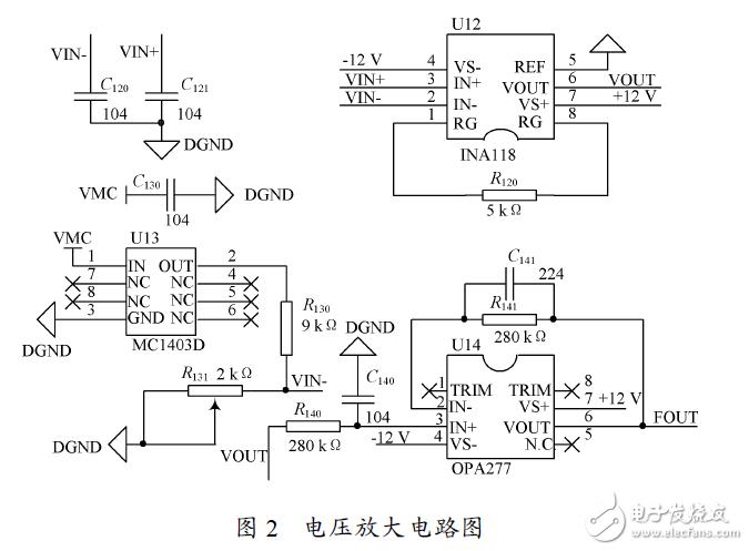 铂热电阻温度测量系统硬件电路 —电路图天天读(65)