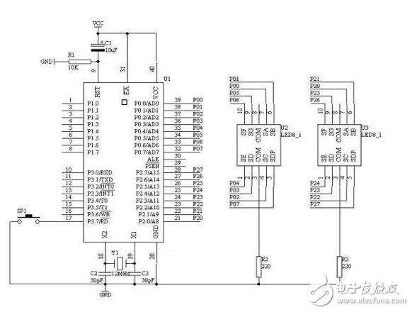运用单片机指纹识别系统电路设计