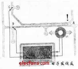 实用印制板短路检测器电路